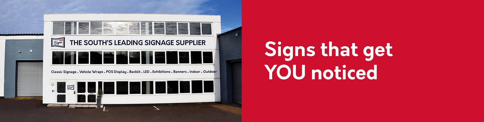 Contact BCP Signage
